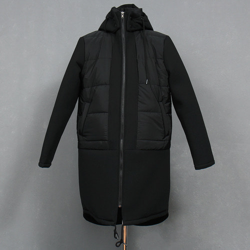 Removable Hood Neoprene Insulating Combi Long Jacket