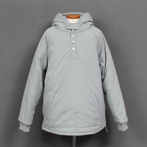Cotton Insulation Washed Puffa Anorak Hoodie
