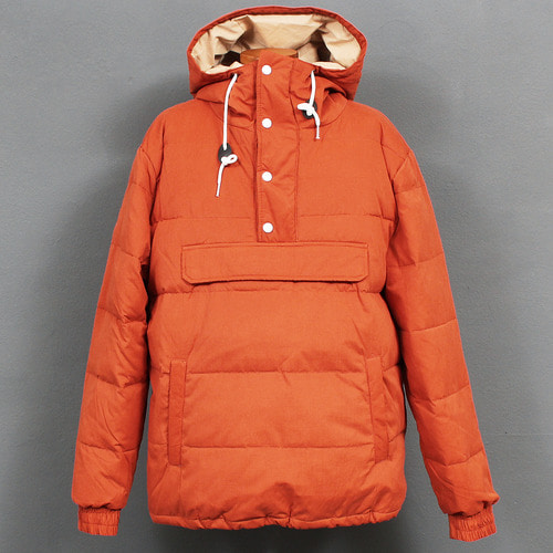 Big Pocket Duck Down Puffa Anorak Hoodie