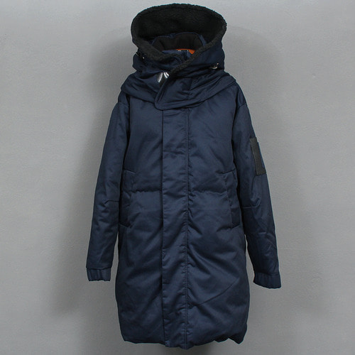 Removable Big Hood Loose Fit Duck Down Parka 701