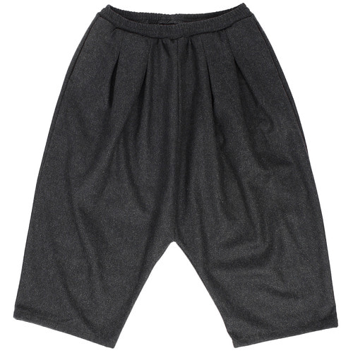 Over sized Drop Crotch Wide Baggy Wool Pants