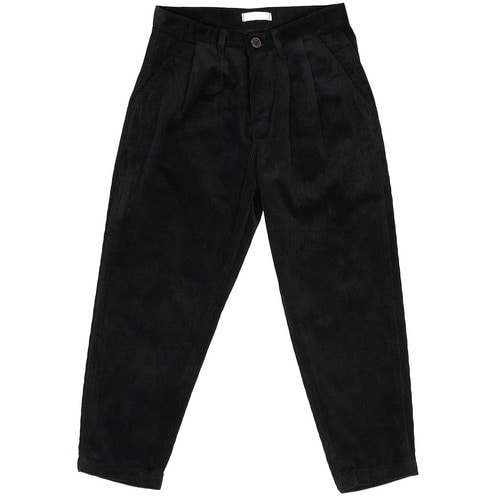 Low Crotch Corduroy Pattern Winter Baggy Wide Pants