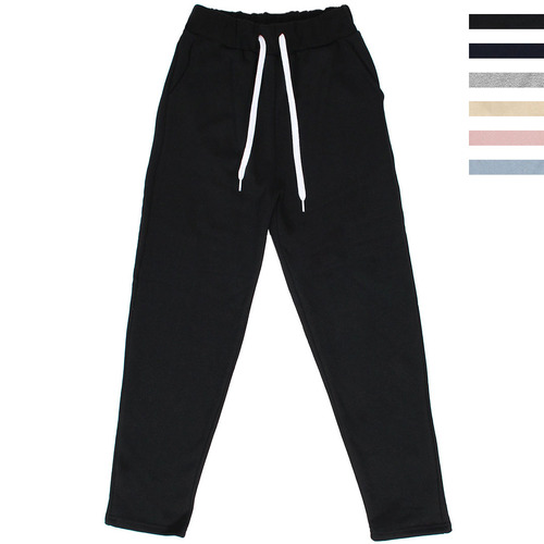 6 Color Basic Elasticized Waistband Sweatpants 009