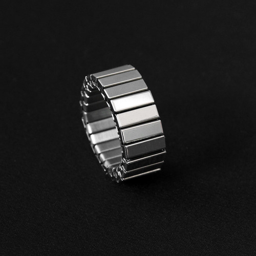 Stretchable One Size Fits All Metal Ring R46
