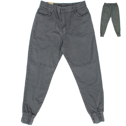 Vintage Washed Slim Stretchable Jogger Pants 034
