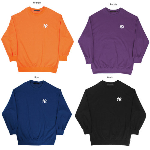Loose Fit Logo Stitch Color Sweatshirt 024