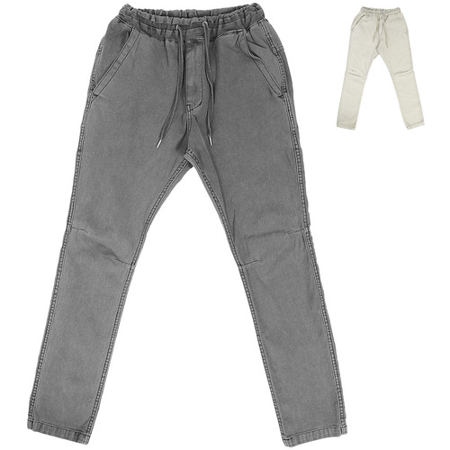 Vintage Washed Stretchable Denim Pants 008
