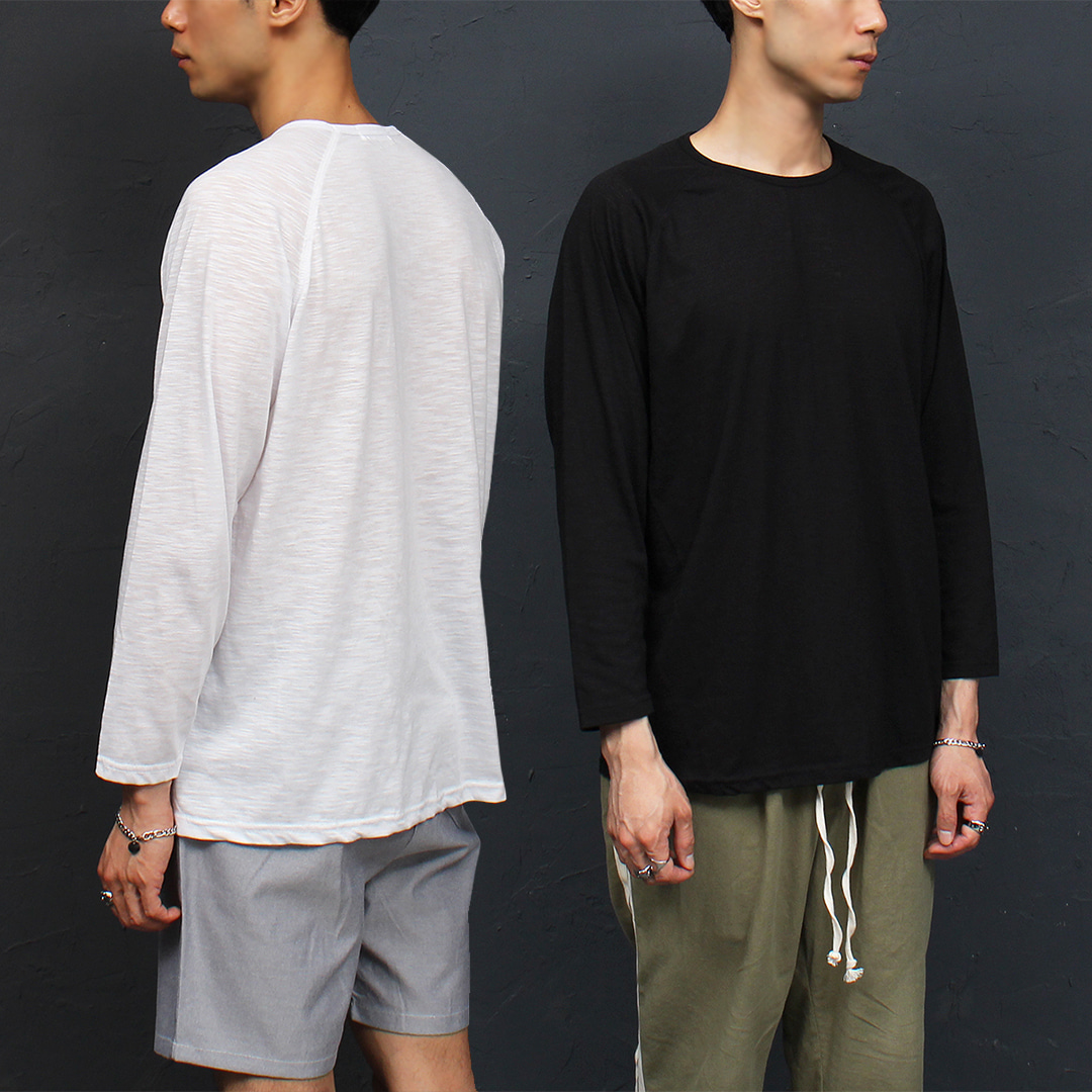 Standard Fit Summer Thin Long Sleeve Tee 028