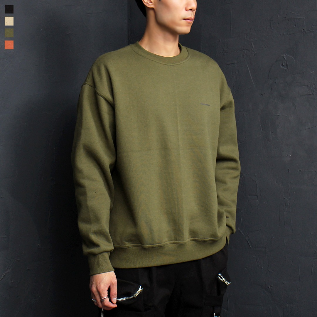 Philasophy Logo Fleecy Interior Boxy Sweatshirt 061
