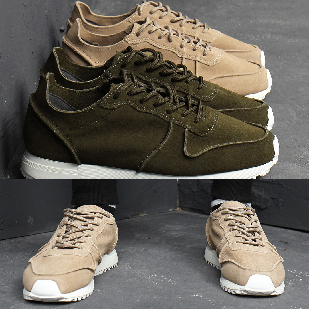 Winter Real Suede Sneakers 018