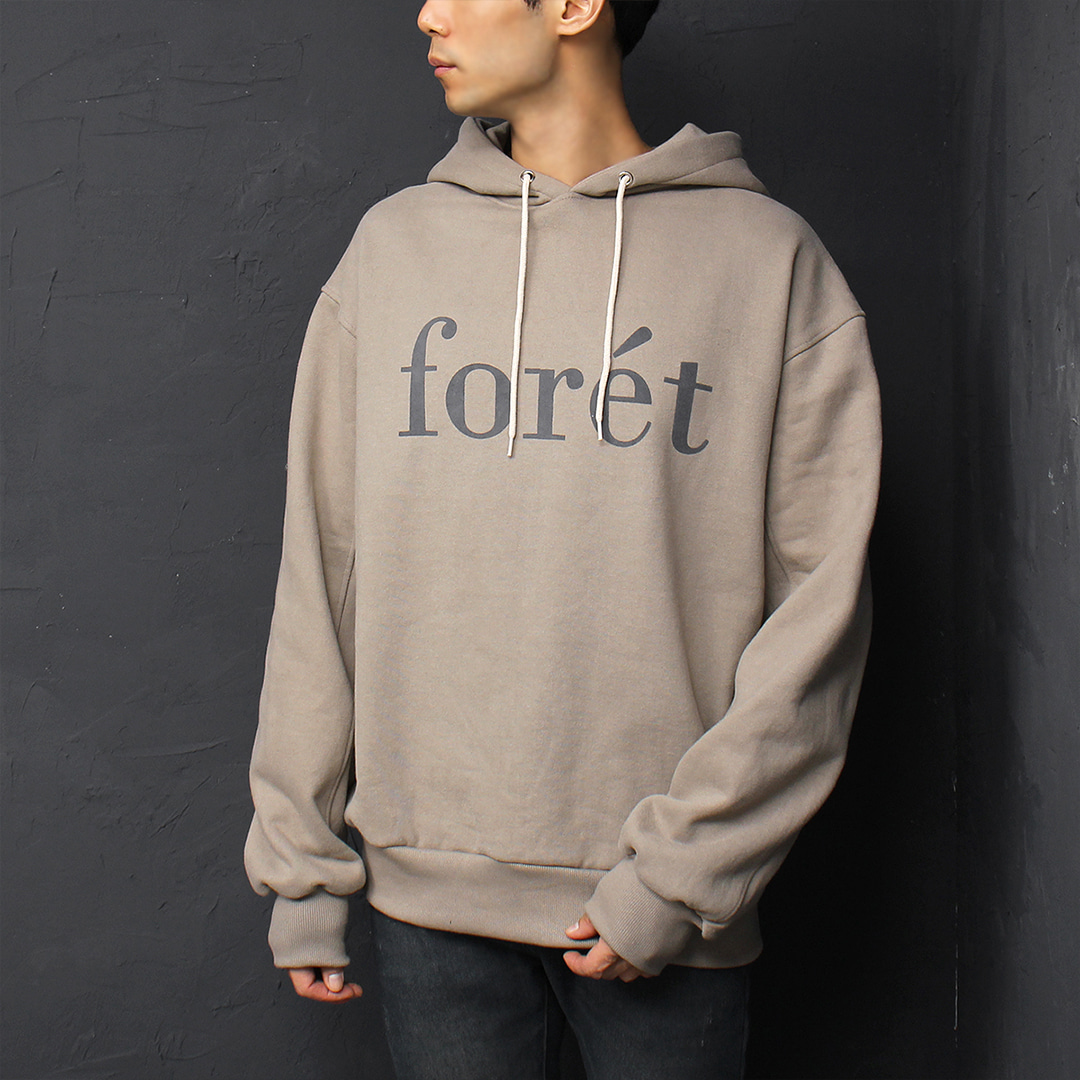 Graphic Logo Printing Vintage Washed Boxy Hoodie 079