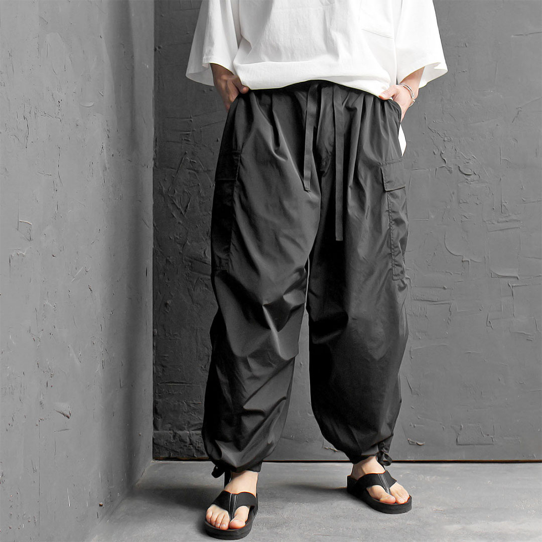Oversized Big Cargo Pocket Balloon Pants 429