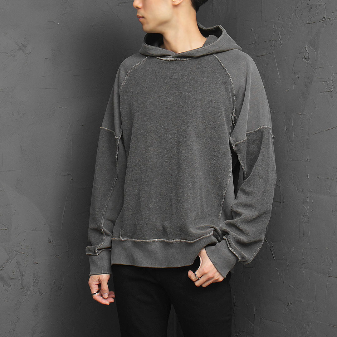 Reversed Pigment Washed Hoodie 923