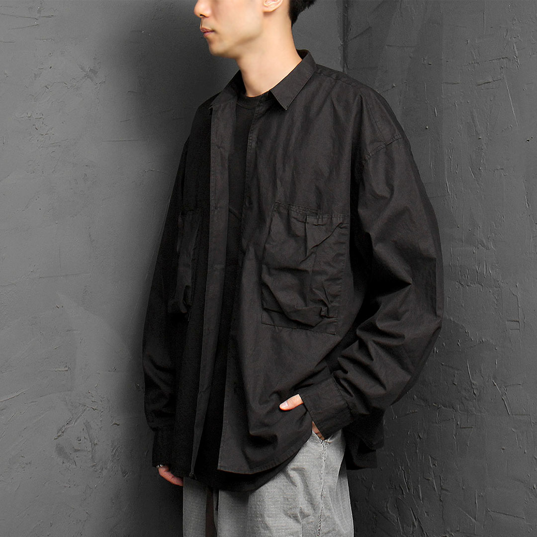 Big Pocket Shirt Jacket 950