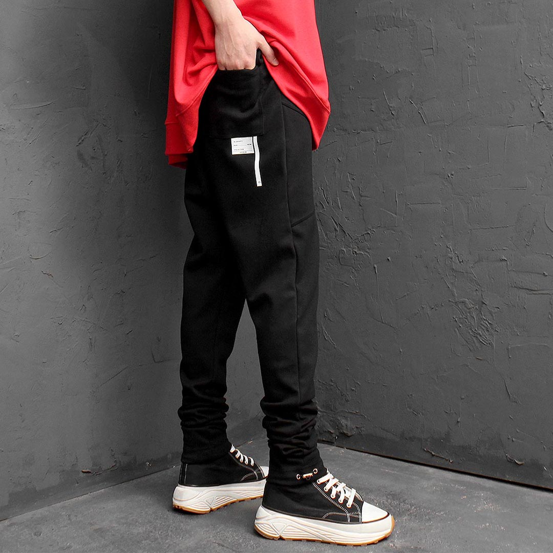 Oversized Long Leg Baggy Sweatpants 1195