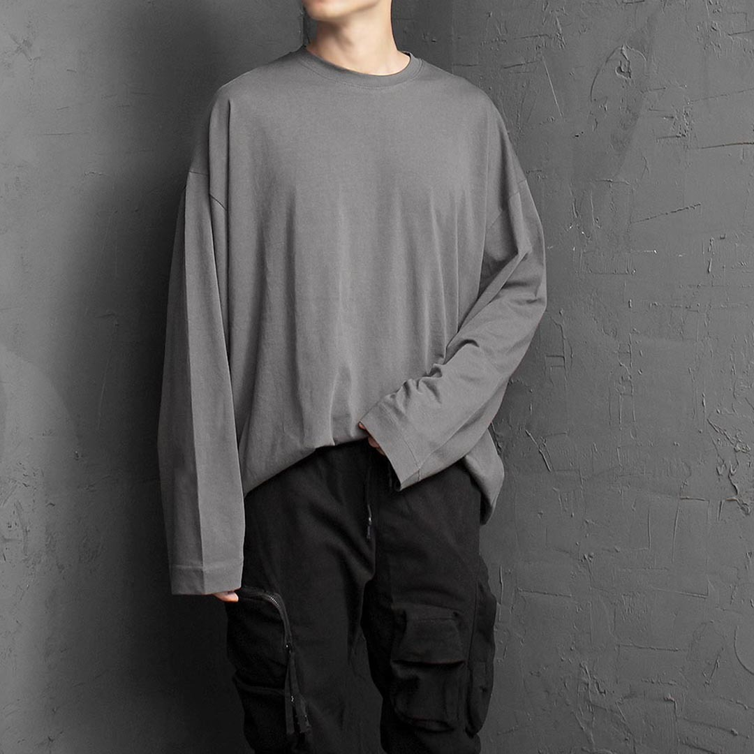 High Quality Cotton Oversized Loose Fit Tee 1382