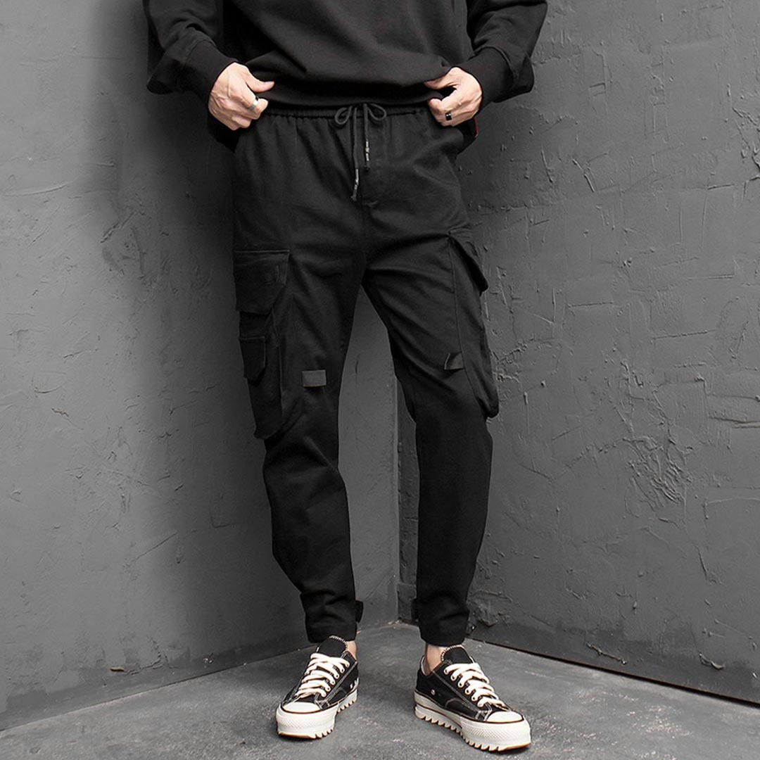Big Cargo Pocket Jogger Pants 1405