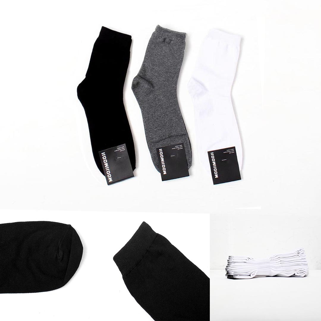 Basic Stretchable Socks 10 Pairs 1544