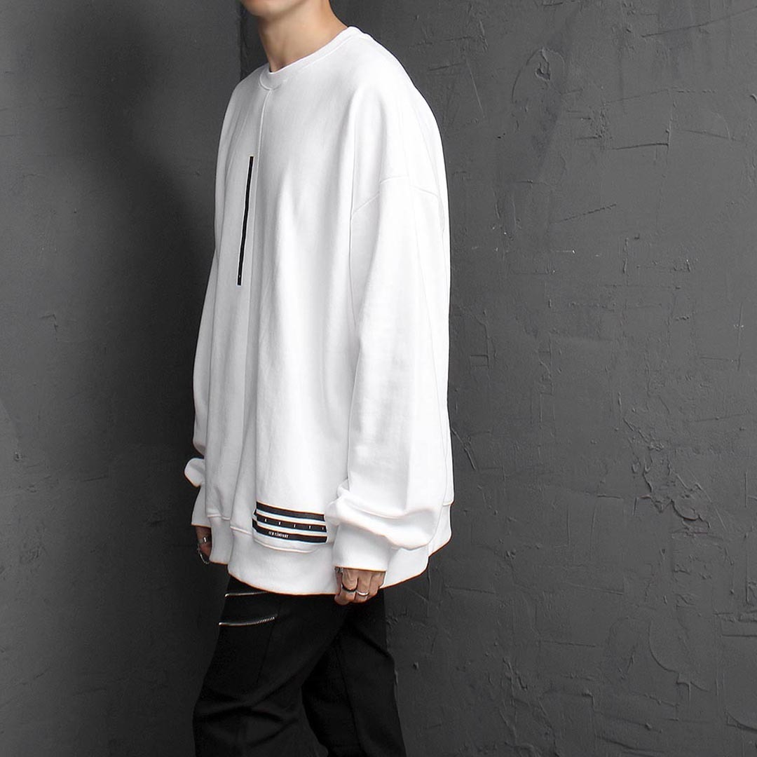 Logo Printing Oversized Fit Sweatshirt 1518
