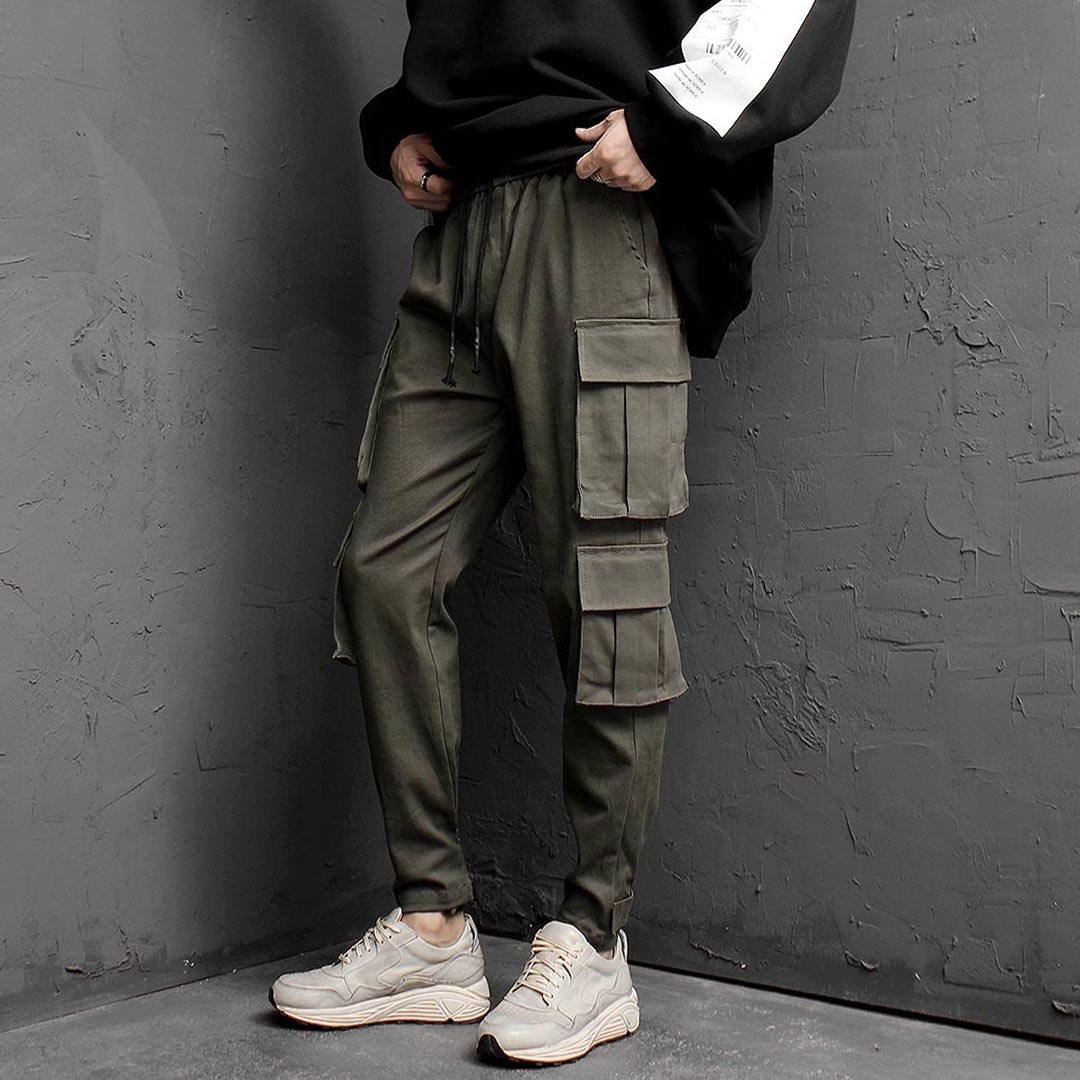 Double Cargo Jogger Pants 1381