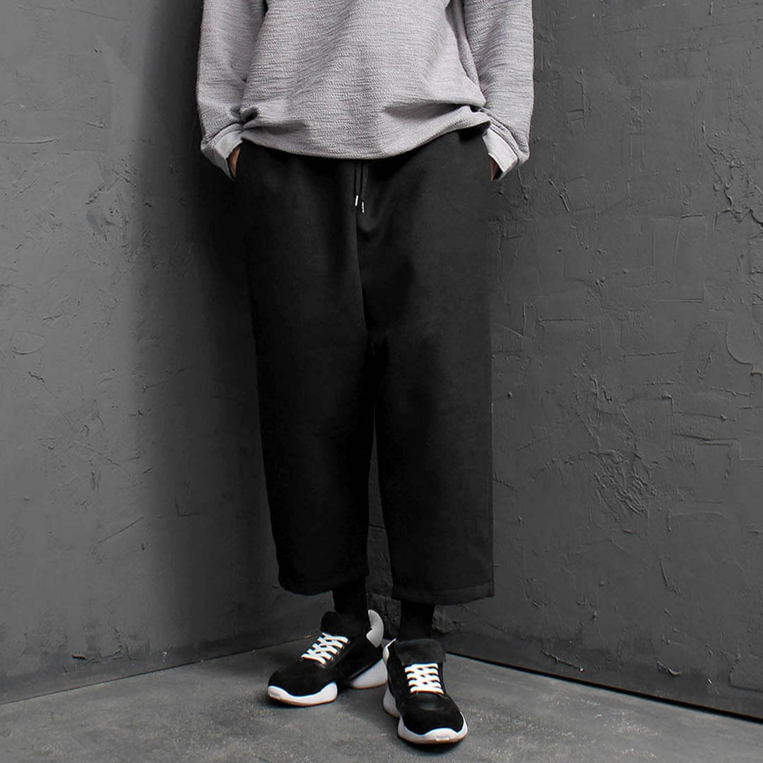 Wide Wool Baggy Pants 1737