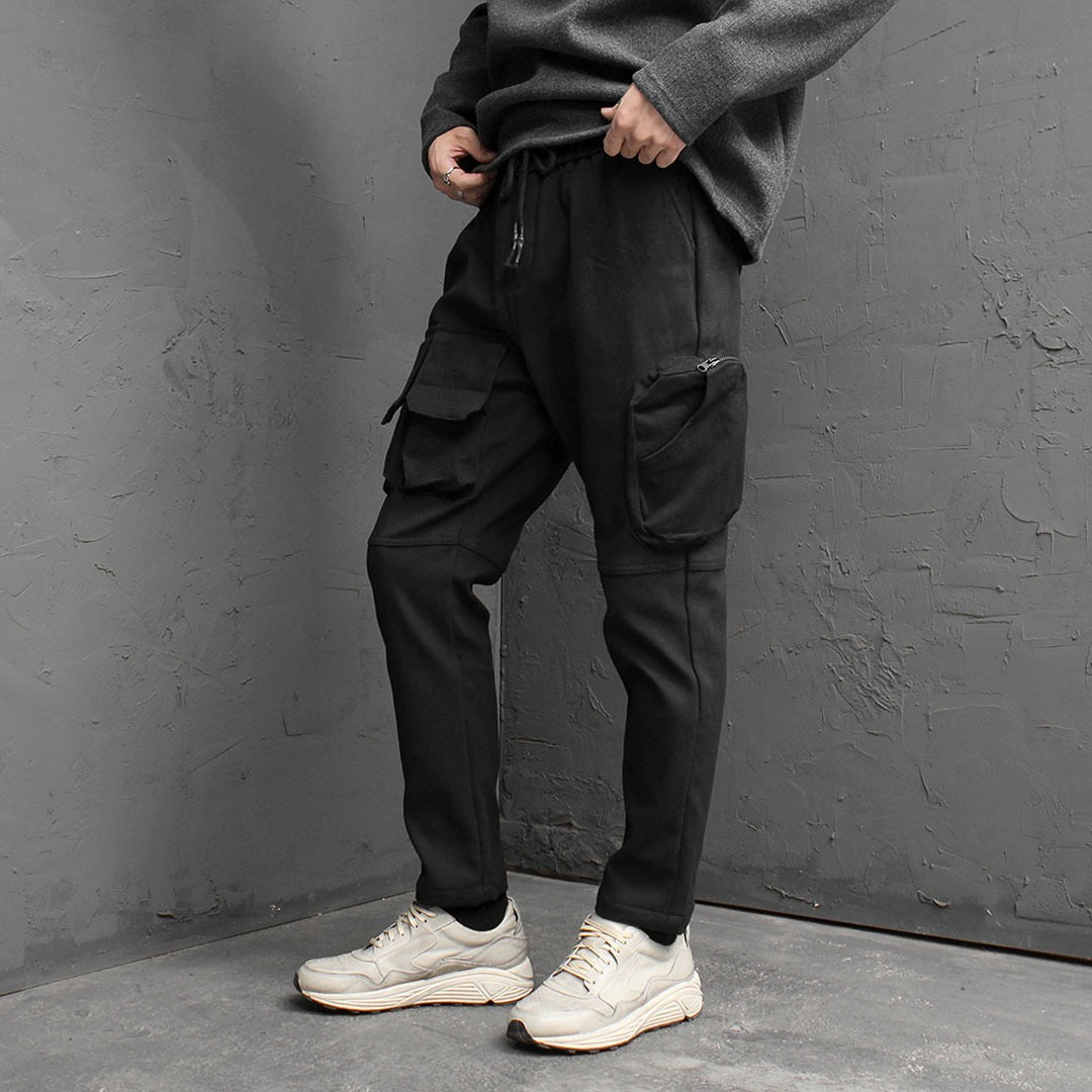 Unique Multi Cargo Pocket Pants 1765
