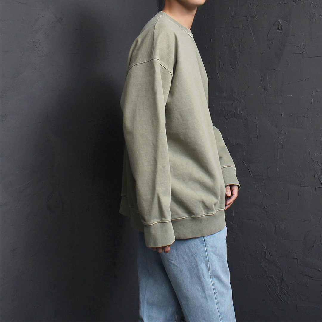 Loose Fit Vintage Washed Sweatshirt 1773